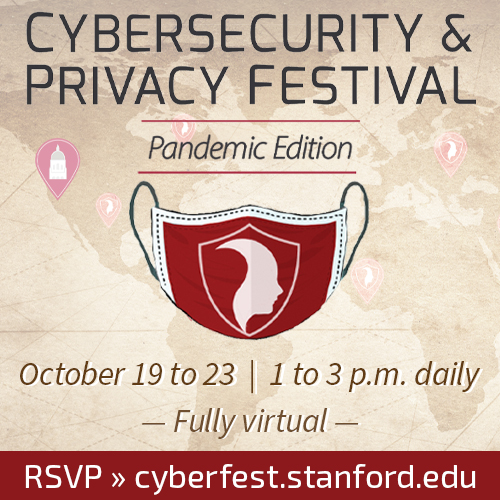 Cybersecurity & Privacy Festival - Pandemic Edition