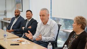Year Up Executives, Steve Gallagher, Jan Cicero