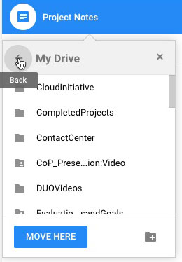 How do I move files from Google My Drive to a Team Drive