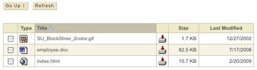 WebAFS directory