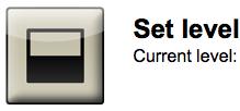 Set Level button