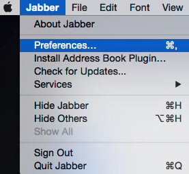 Stanford Health Care: How to Log in to WebEx Using Jabber