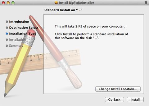 start installing the uninstaller