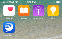 Jabber for iPhone: Switching From Cloud to On Premise