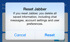 Jabber for iPhone: Switching From Cloud to On Premise | University IT