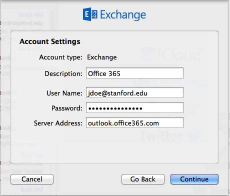 Configure Apple Mail for Office 365 Using Exchange | University IT