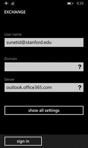 enter server setting