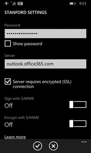 enter your SUNet ID password and ajust settings
