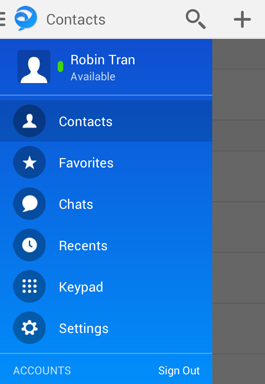 Tap Contacts and then the plus sign in the top right-hand corner of the Contacts screen. The Add Contact window opens.