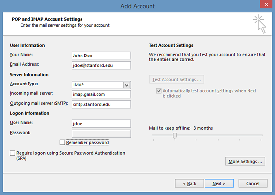 How to Set up a Gmail Account As a Pop Account pictures