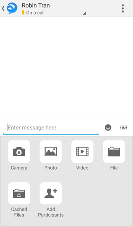 Tap plus sign in bottom right corner to view collaboration controls