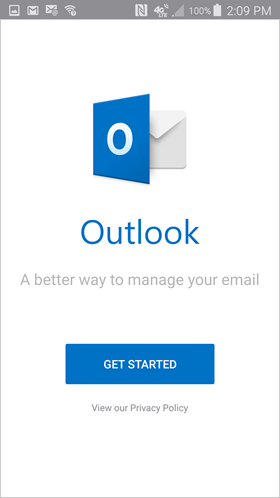 start setting up your Office 365 email for Outlook