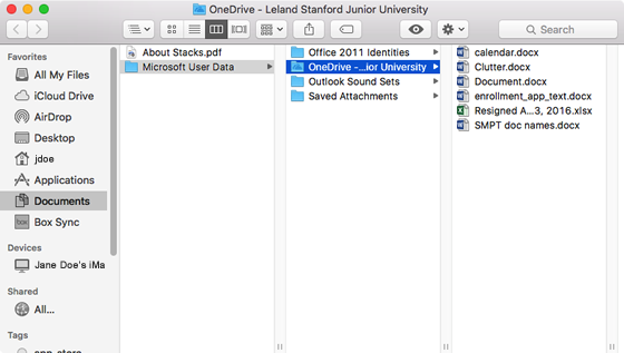 How to Sync OneDrive to Your Mac | University IT