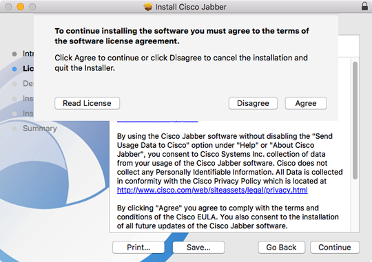 Install Jabber on a Mac | University IT
