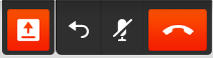 stop screen sharing icon