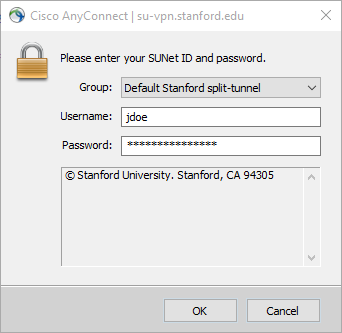 cisco anyconnect split tunnel not working windows 10