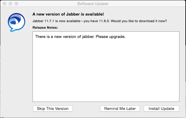 How to Enable Jabber Auto-Updates on a Mac   University IT