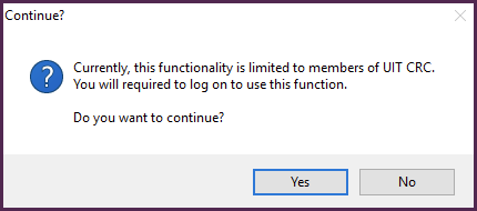 prompt to proceed to create new enrollment.txt file