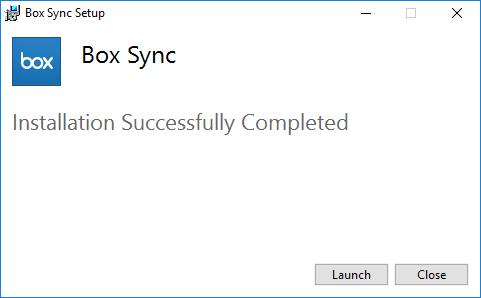 launch Box Sync