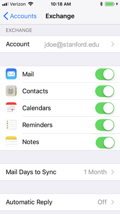 How to Configure the Built-in iOS Mail App for Office 365