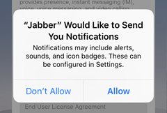 allow Jabber to send you notifications