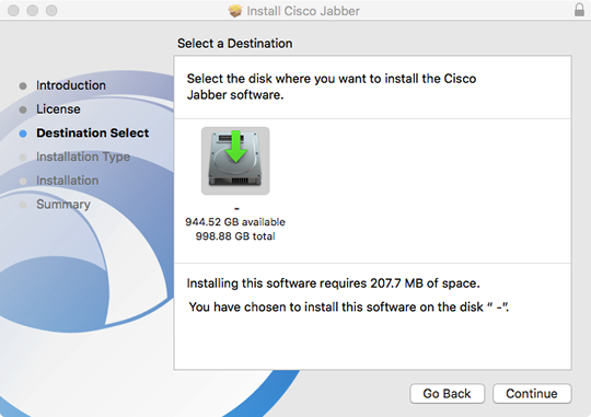 choose to install the software on your hard drive
