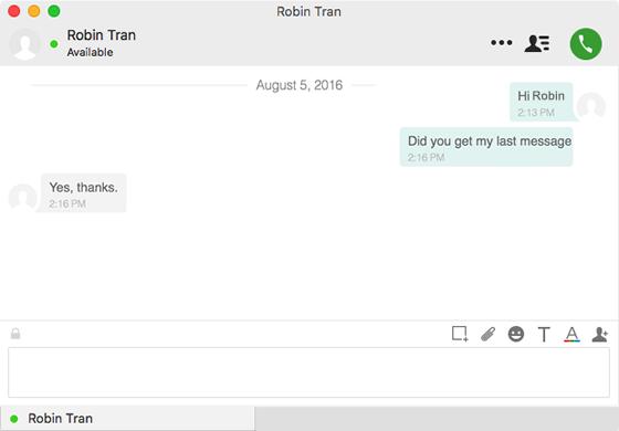 Using Jabber Chat on a Mac | University IT