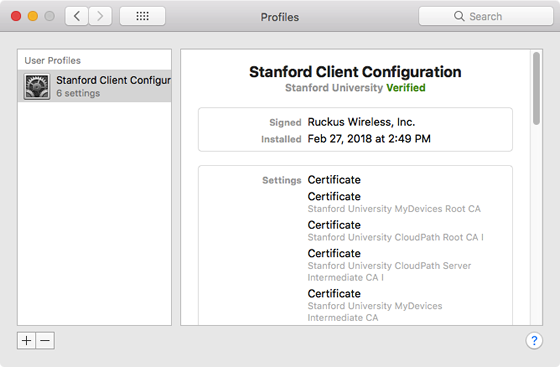 Install a Client Certificate on a Mac | University IT