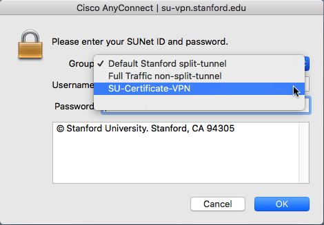 Mac: Connect to the Stanford VPN with a Client Certificate ...