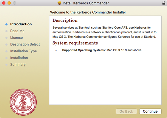 introduction to Kerberos Commander installer and system requirements