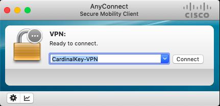 connect to Cardinal Key VPN