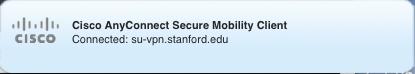 su-vpn.stanford.edu connection notice in menu bar