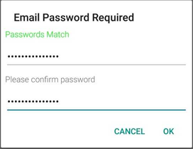 enter and confirm you Stanford email password