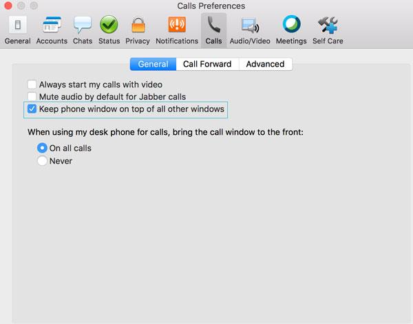 Tips for Using Jabber Softphone | University IT