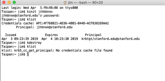 Terminal app code