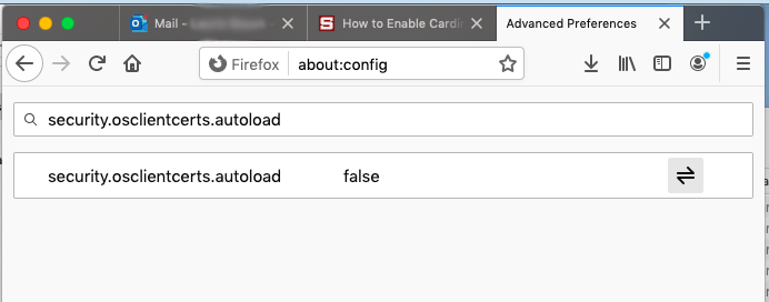 Search for security autoload