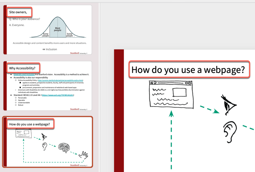 Screenshot Microsoft PowerPoint slide title