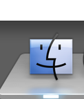 Click on the Finder icon