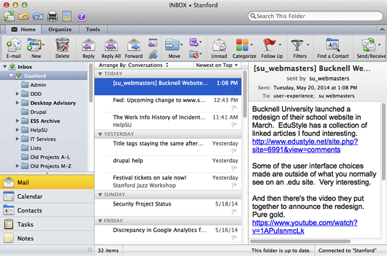 how to delete inbox mac mail