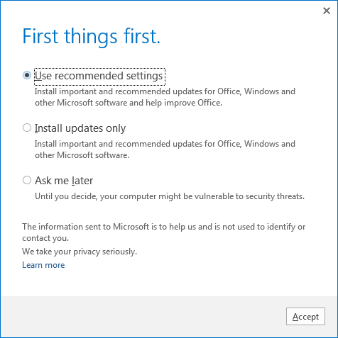 install important updated for Office, Windows, and other Microsoft software