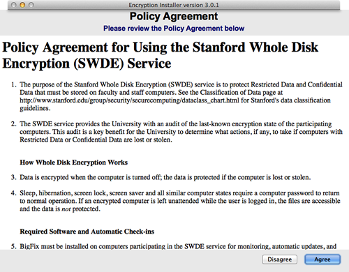 policy agreement