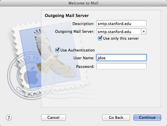 How to Set Up Apple Mail for Stanford Google Mail | University IT