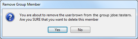 remove group member confirmaton message