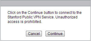 continue with installing VPN client