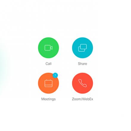 Image of new Cisco panel screen