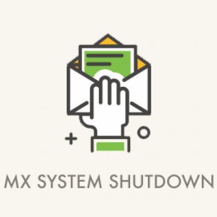 image mx system shutdown