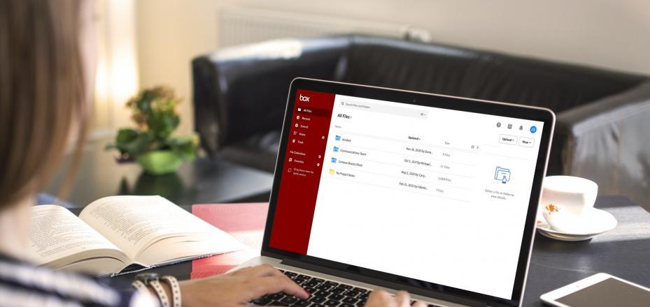 decorative image of new box interface