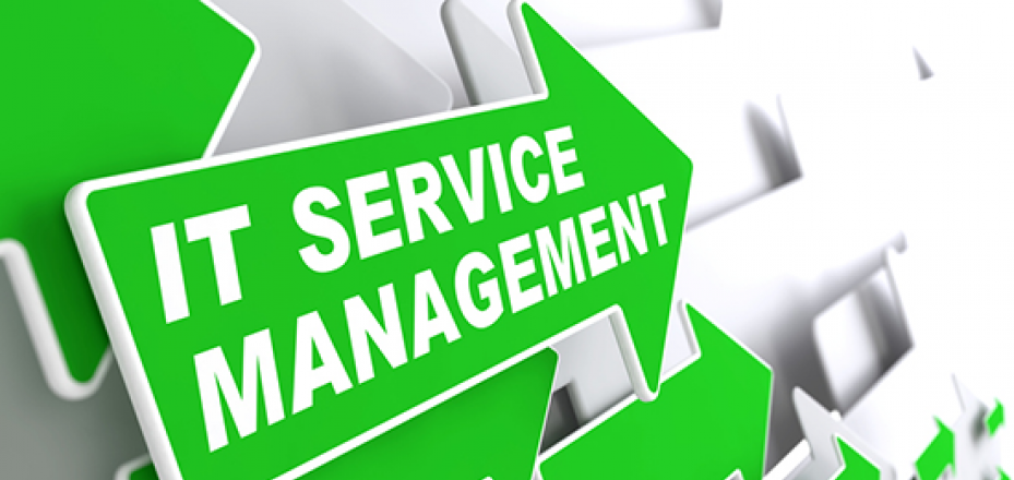 Image of IT Service Management arrow