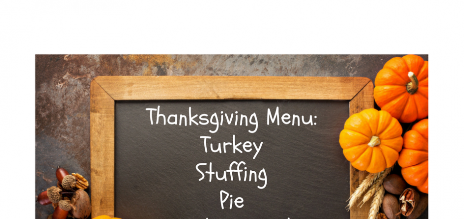 Oracle Upgrade Thanksgiving Menu