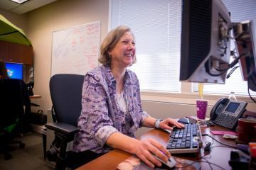 Helen Clark, IT Business Analyst for the UIT MaIS Team